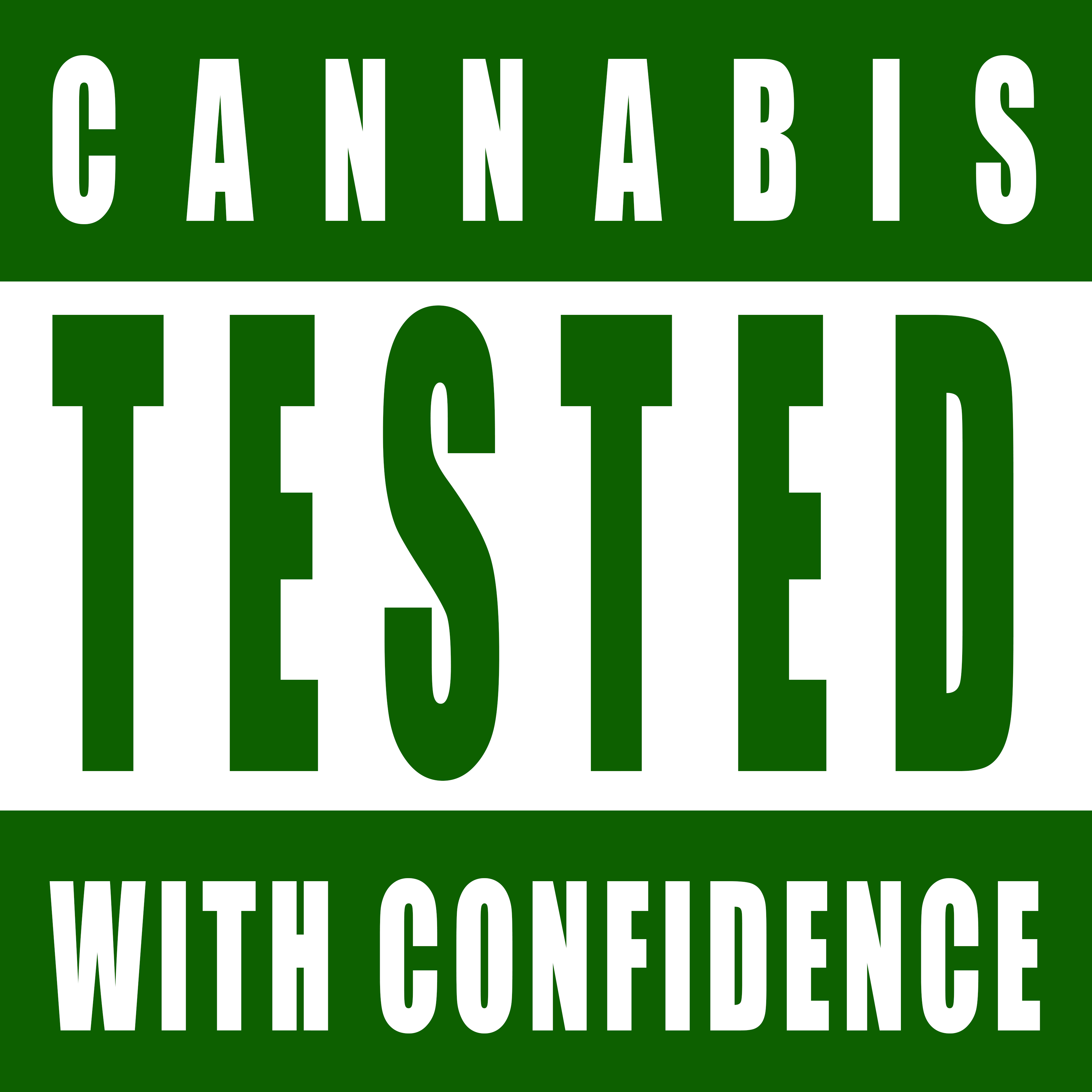 CANNABIS TESTED WITH CONFIDENCE